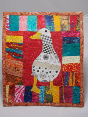 Quilted Squares by Jeanne Simpson