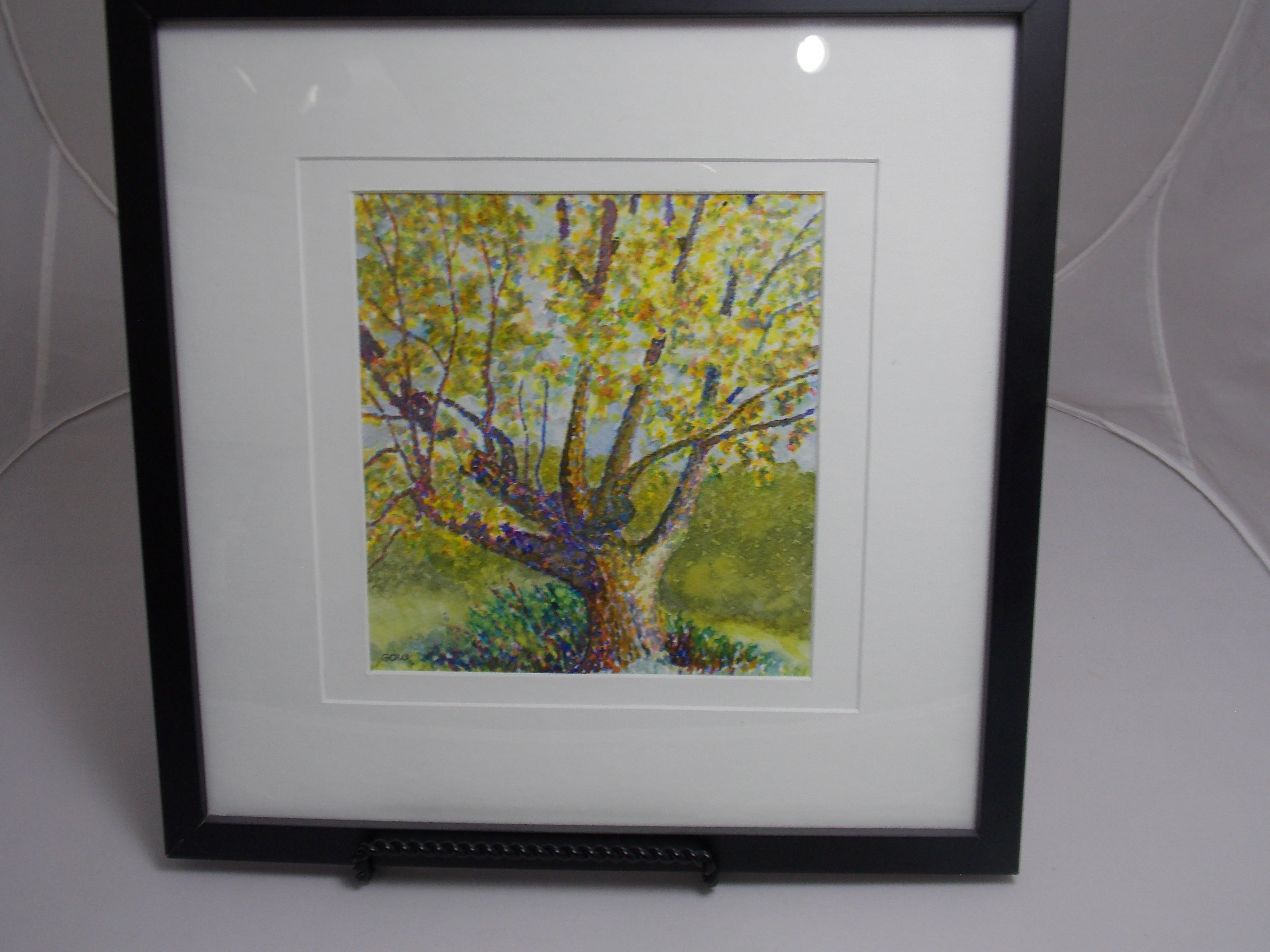 Watercolor Tree by George Gow
