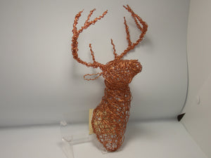 Wall-Mount Deer Head by Dacelle Peckler