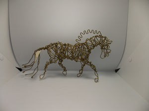 Recycled Copper Horse by Dacelle Peckler