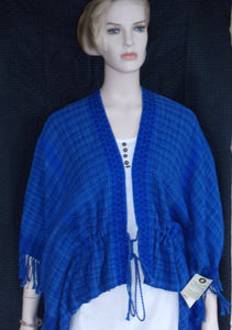 Butterfly Blouse - Royal Blue by Dan and Diane Wibbles