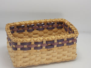 Rectangular Woven Baskets by Deborah Peckler