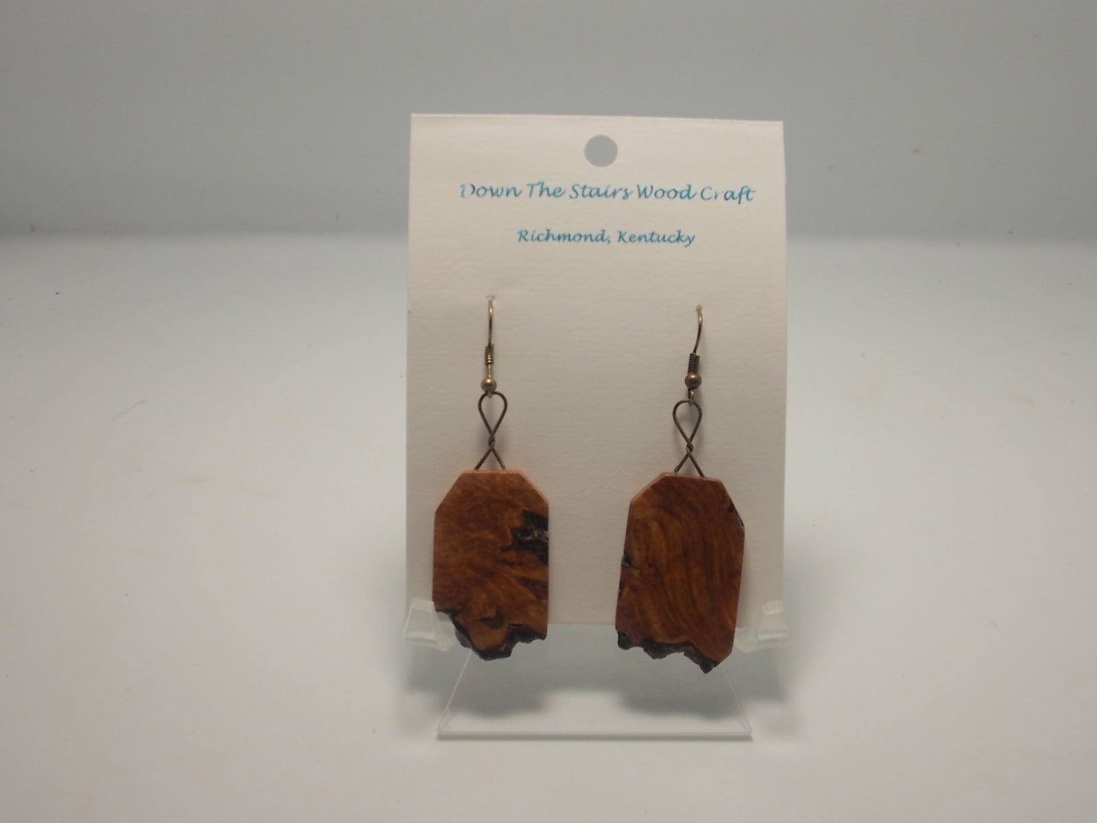 Wooden Earrings by David Russell