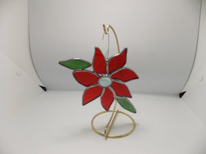 Poinsettia ornaments by Tracee Carmichael