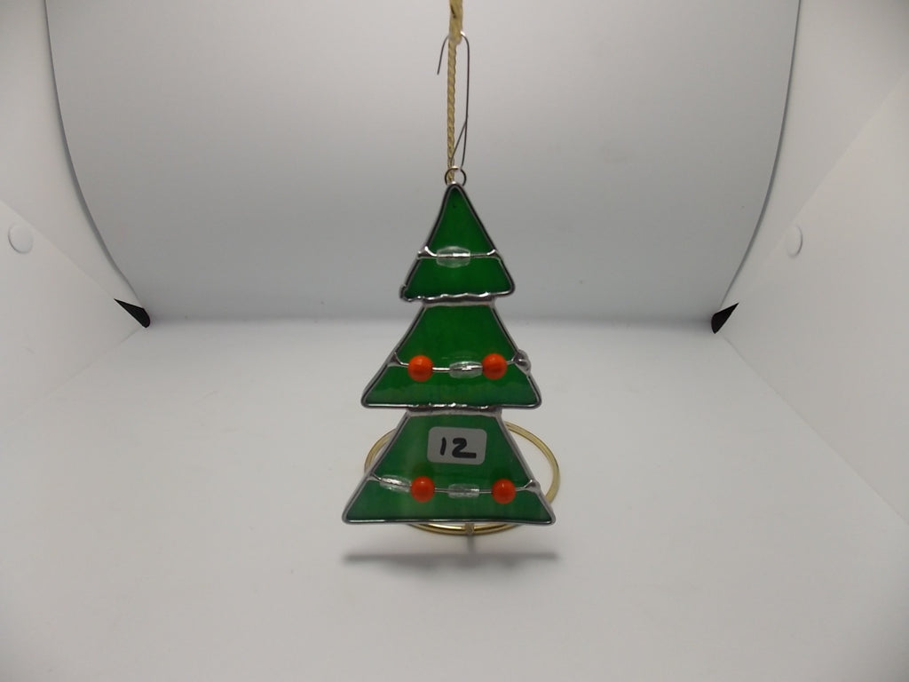 Christmas tree ornaments by Tracee Carmichael