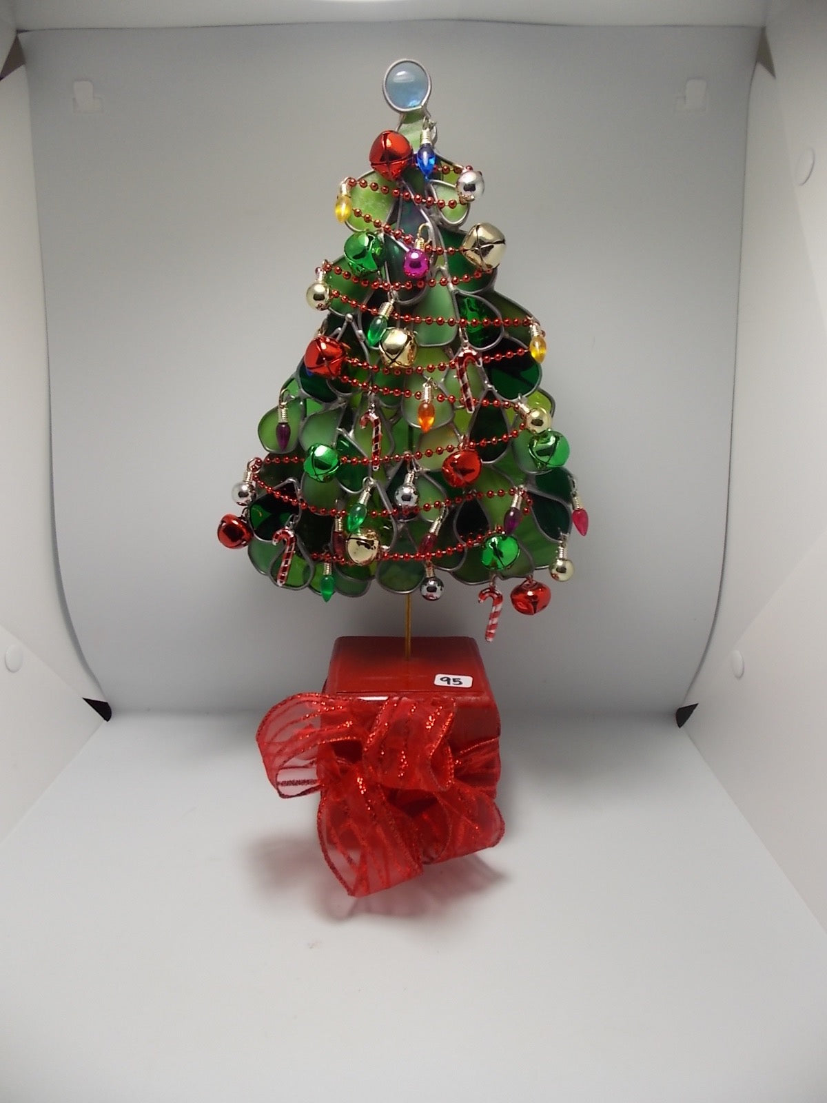 Standing christmas tree by Tracee Carmichael