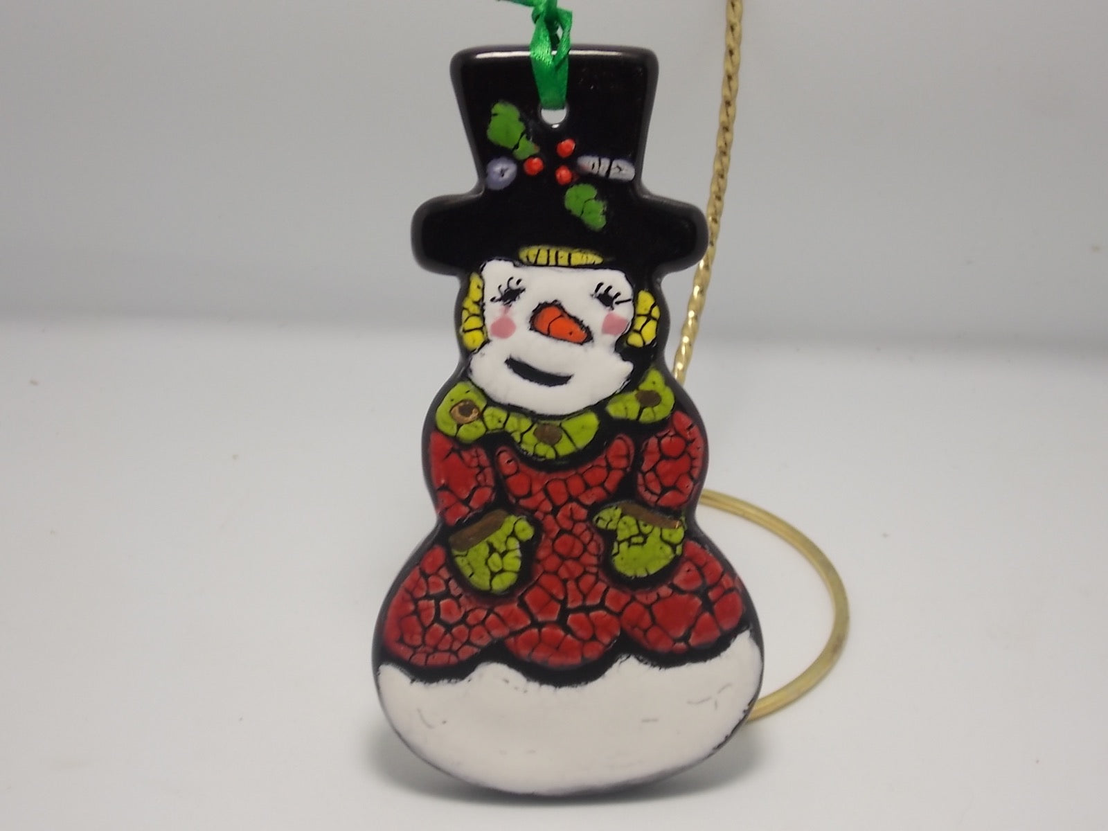 Snowmen Ornaments by Pam White