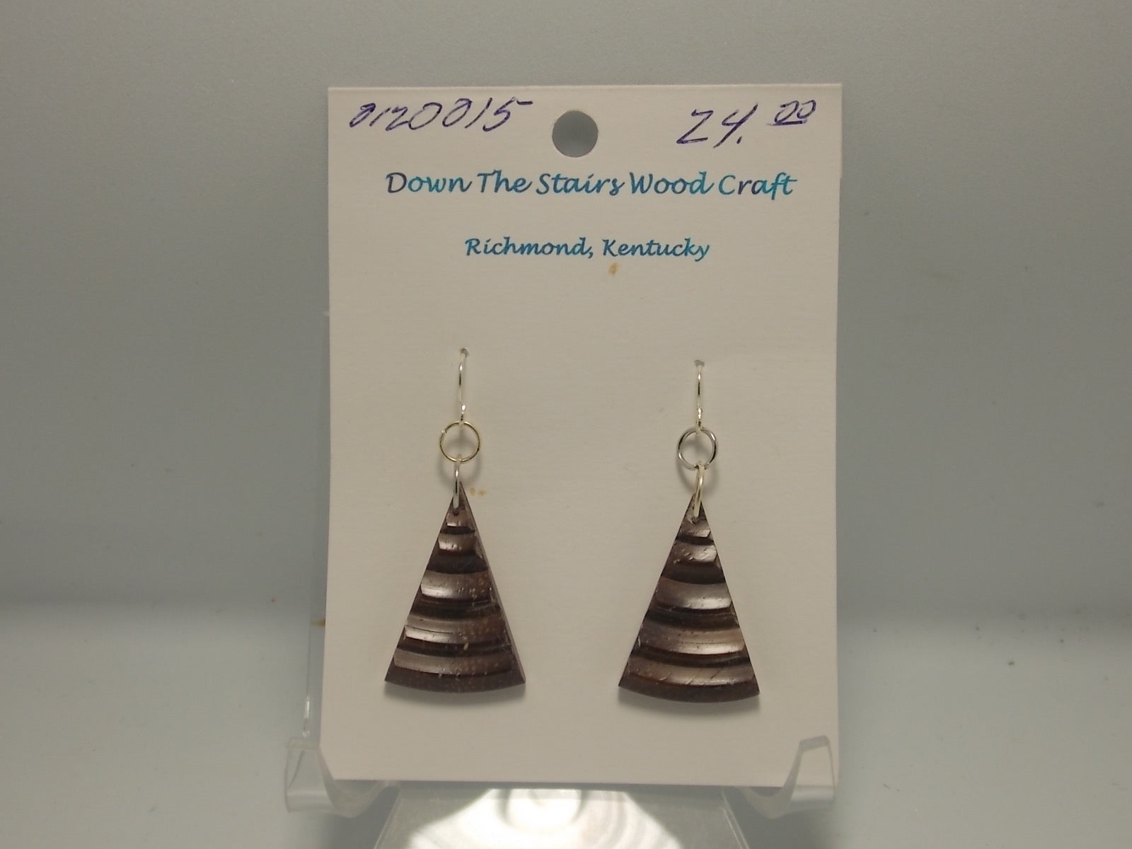 Earrings by David Russell