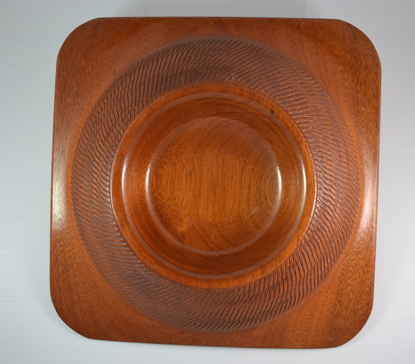 2-Way Mahogany Bowl