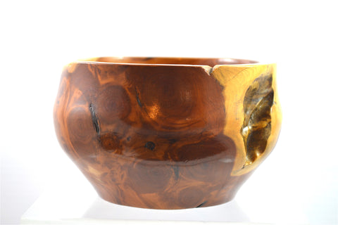 Rare Japanese Yew Root Bowl