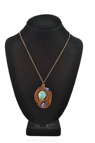 Turquoise & Howille Pendant