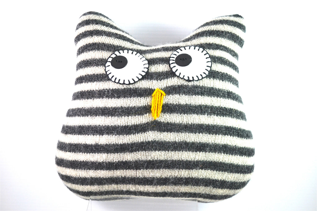 Owl Pillow by Marsha R. Maupin