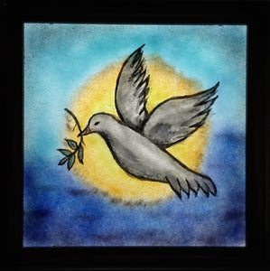 Peace Dove Panel by Dorothy Cline