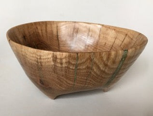 #776 Pin Oak Bowl by Lindsay Frost