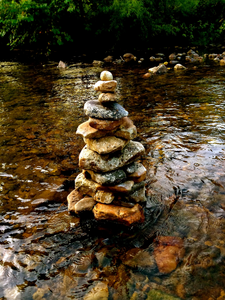River Cairn by Mary Clare O'Neal
