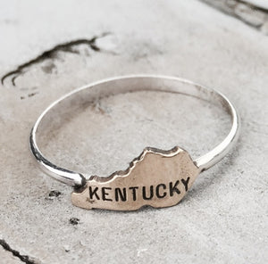 Kentucky ring by Rebecca Wheat