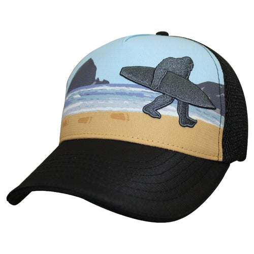 Bigfoot Surf trucker from Headsweats - buy in Canada from The Podium