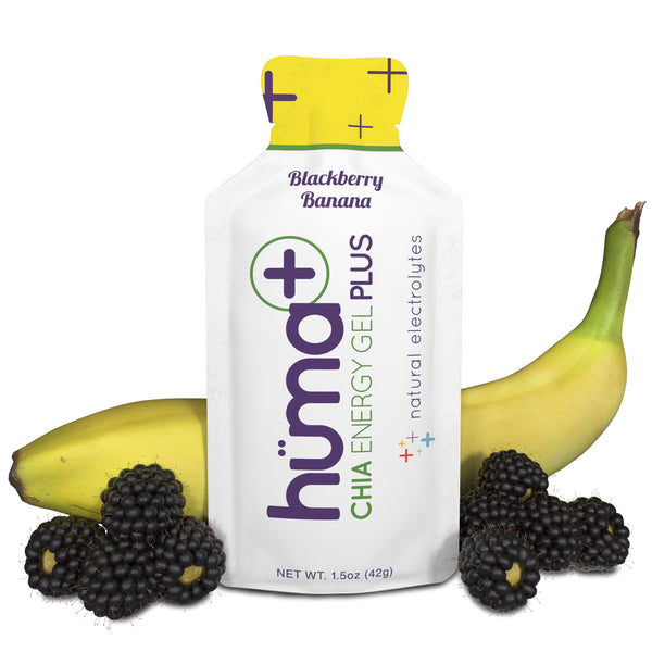 Huma Gel Plus - blackberry banana, sold in Canada by The Podium