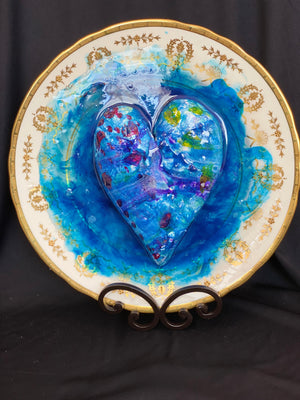 Oceanic Elegance  #4 My Heart on a Platter Series