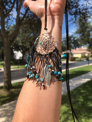 Crystallized Dream Catcher Necklace