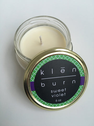 Klēn Burn Soy Candle- 11oz, 8oz or 6 oz jar- Spring/Summer 2016 - Klēn Shop  - 1