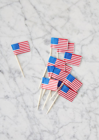 Toppers: USA Flags