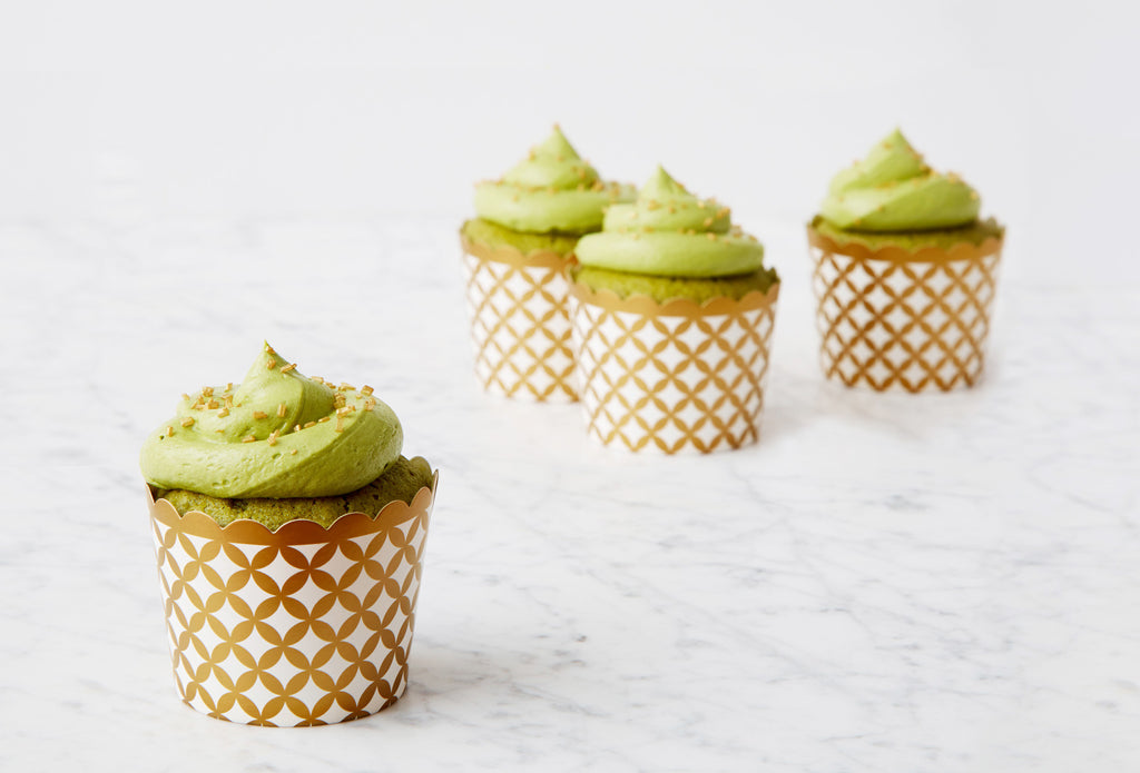 Green Tea Matcha Cupcakes