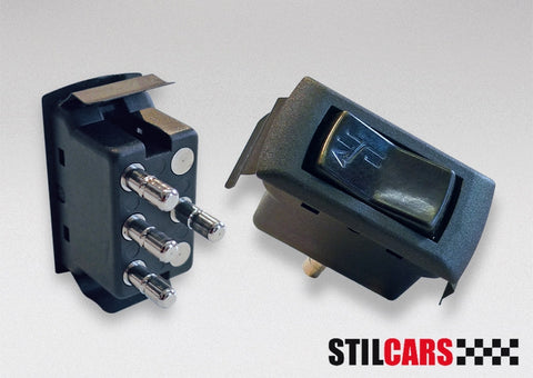 Porsche 911 '69-'89; 964 '89-'94 Sunroof Switch - Black<j>