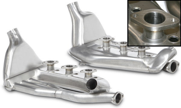Porsche 911 63-83 Heat exchanger set, stainless steel, left/right