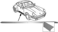 "Porsche 911 63-73 Door Sill, ""S"" Package, Right<j>"