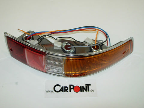 Porsche 911 65-68 Rear Light, Plastic, Complete, Right