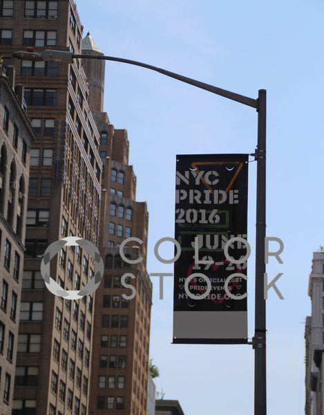 NYC Pride event sign - Colorstock™  © Tee Dubose  - diverse stock photos