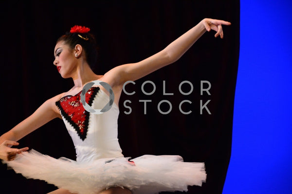 Ballet dancer during routine - arms up - Colorstock™  © Anna-Rhesa Versola  - diverse stock photos