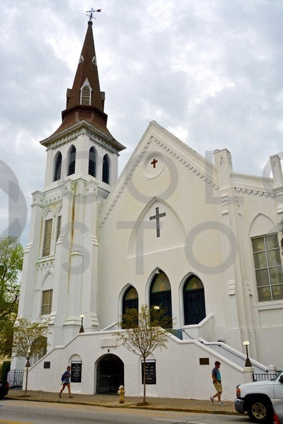 Mother Emanual Church in Charleston, SC - Colorstock™  © Anna-Rhesa Versola  - diverse stock photos