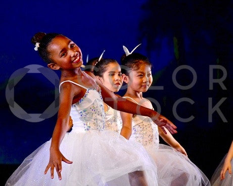 Youth ballet dancers during routine - Colorstock™  © Anna-Rhesa Versola  - diverse stock photos