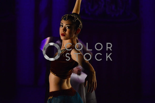 Ballet dancer in jeweled costume - Colorstock™  © Anna-Rhesa Versola  - diverse stock photos