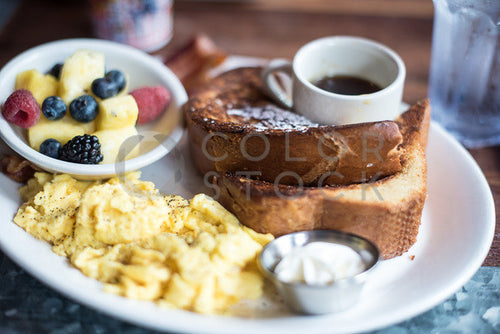 Brunch plate - Colorstock™  © Sirena White  - diverse stock photos