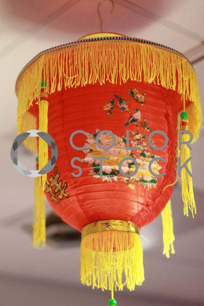 Large Chinese new year latern - Colorstock™  © Janan Graham-Russell  - diverse stock photos