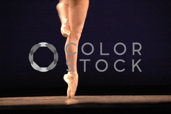 Ballet dancer's legs - Colorstock™  © Anna-Rhesa Versola  - diverse stock photos
