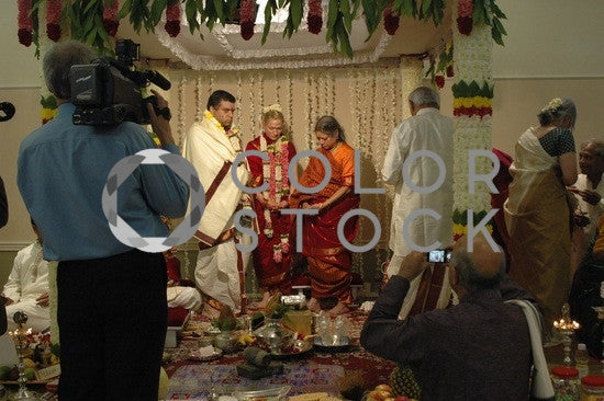 Hindu wedding ceremony - Colorstock™  © Anna-Rhesa Versola  - diverse stock photos