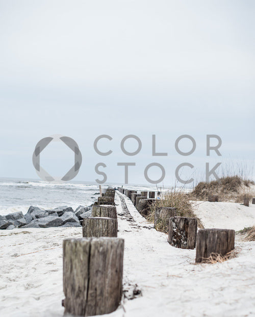 Boardwalk and sand - Colorstock™  © Sirena White  - diverse stock photos