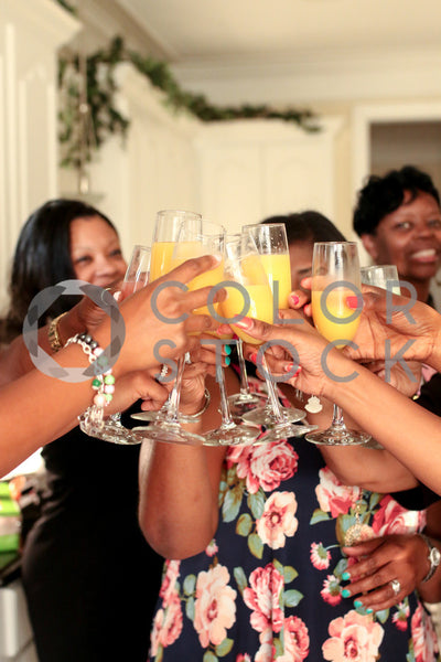Women celebrating with mimosas, Lavish Moments Photography - Colorstock: diverse stock photos