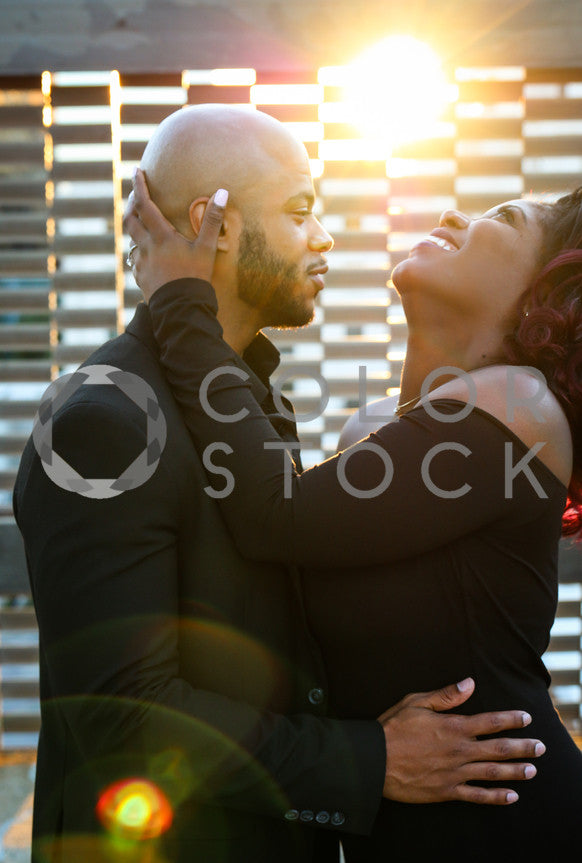 Elegant Couple in Love with Laughter, Lavish Moments Photography - Colorstock: diverse stock photos