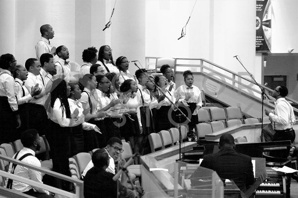 Youth choir singing in the pulpit - Colorstock™  © Bereket Kelile  - diverse stock photos