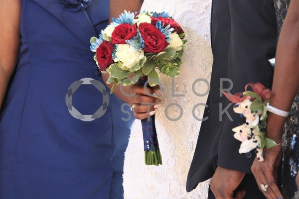 Bride holding a bouquet in hand - 2, Zoe Moore - Colorstock: diverse stock photos