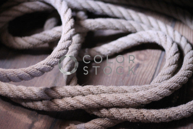 Rope - Colorstock™  © Janan Graham-Russell  - diverse stock photos