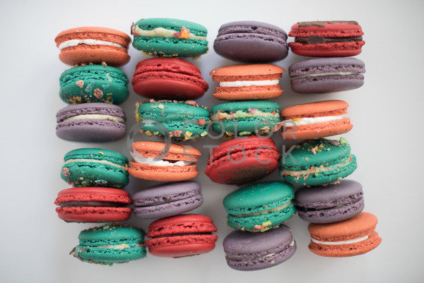 Assorted macaroons - Colorstock™  © Sirena White  - diverse stock photos