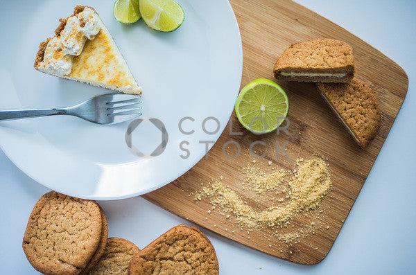 Key lime pie and cookies - Colorstock™  © Sirena White  - diverse stock photos