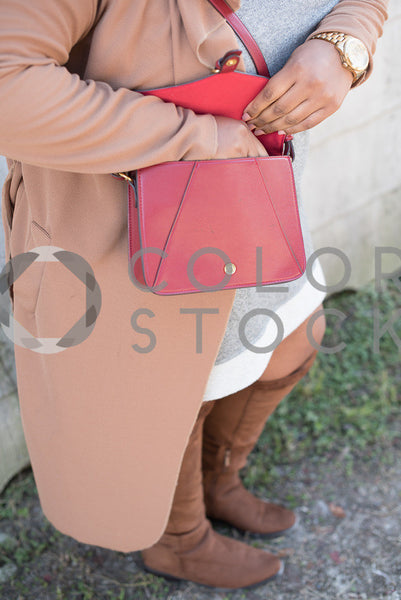Woman dressed for fall - 2, Aneris Photos - Colorstock: diverse stock photos