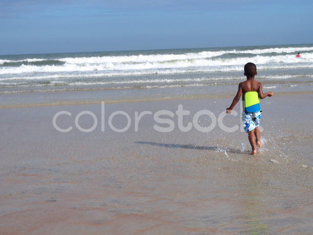Boy at the beach - Colorstock™  © Jenifer Daniels  - diverse stock photos